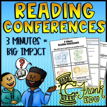 3- Minute Reading Conference Routine (Teacher Note-Taking Tool)