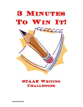 3 Minutes To Win It Writing Challenges!