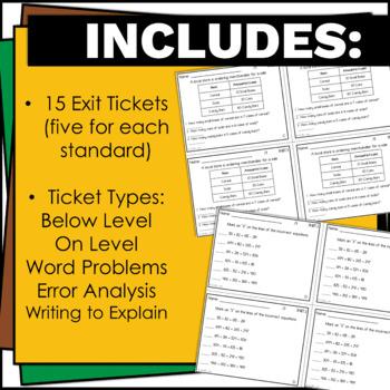 3.NBT.1, 3.NBT.2, 3.NBT.3 Exit Tickets, Math, 3rd Grade