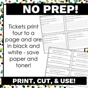 3rd Grade Math Exit Tickets for Every NBT Standard