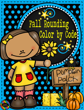 3.NBT.1 Fall Color by Code Rounding to the Nearest 10 with 3-Digit Numbers