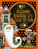 3.NBT.1 Halloween Color by Code Rounding to the Nearest 10