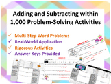 3.NBT.2 Adding and Subtracting within 1,000 Problem-Solvln