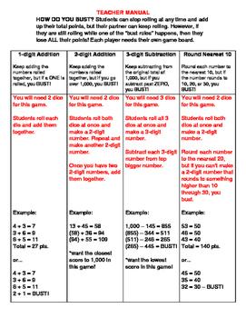 3.NBT.2 Math Buster