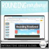 3.NBT.A.1 - Rounding Roadway! | Rounding 2-Digit Numbers t
