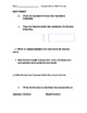 3.NF.1 Improper Fraction and Mixed Number Word Problem Notes and Exit Ticket