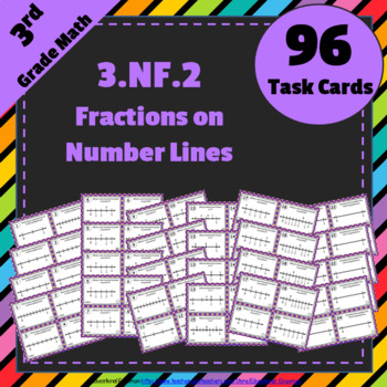 3.NF.2 Task Cards: Fractions on Number Lines Task Cards 3.NF.2: Grade 3 Fraction
