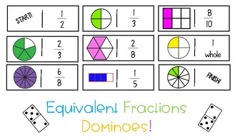 3.NF.3 Equivalent Fraction Dominoes