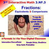 3.NF.3 Math Interactive Test Prep: Fractions-Equivalents/C