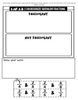 3.NF.3a-d Fraction Practice