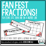 3.NF.A.2 Cheerleading Fractions on a NumberLine TaskStrips