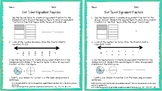 3.NF.A.3 Equivalent Fractions Exit Ticket