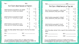 3.NF.A.3c Whole Numbers as Fractions Exit Ticket