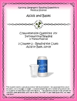 3 NGRE Acids and Bases - Ch. 2, Reading the Clues, Acid or Base, p14-19