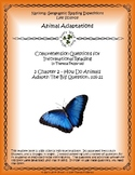 3 NGRE Animal Adaptations - Ch. 2, How Animals Adapt, The Big Question, p16-21