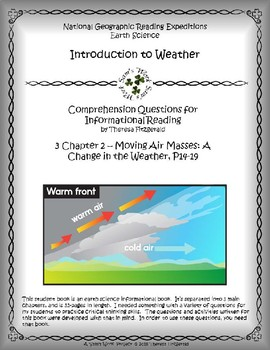 3 NGRE Introduction to Weather - Ch. 2, Moving Air Masses, p14-19