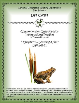 3 NGRE Life Cycles - Ch. 2, Learning About Life, p16-21