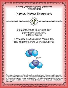 3 NGRE Matter, Matter Everywhere - Ch. 2, The Building Blocks of Matter, p14-21