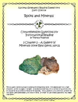 3 NGRE Rocks and Minerals - Chapter 2, Some Real Gems, p14-21