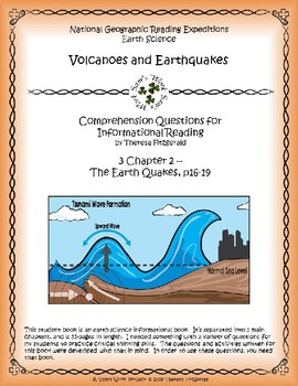 3 NGRE Volcanoes and Earthquakes - Ch. 2, The Earth Quakes, p16-19