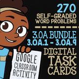 3.OA.1-3.OA.9 Self-Graded Google Classroom Math Activities