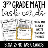 3.OA.2 3rd Grade Math Task Cards (Division)