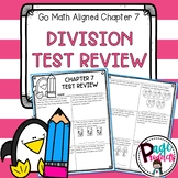 3.OA.3 & 3.OA.7  Division Test Review (Aligned with GO Mat