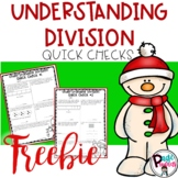 3.OA.3 Understanding Division Quick Checks **Freebie**