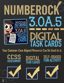 MULTIPLICATION PROPERTIES ★ 3rd Grade Google Classroom Math ★ Digital Task Cards