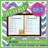 3.OA.7 Interactive Notebook: Fluently Multiply & Divide within 100⭐ Digital