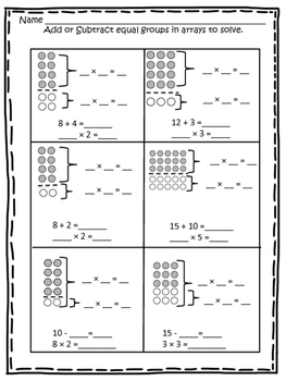 3 oa b 5 distributive property with arrays and tape diagrams by kindertrips. Black Bedroom Furniture Sets. Home Design Ideas