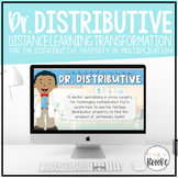 3.OA.B.5 - Dr. Distributive Property    A Distance Learning Transformation!