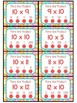 3.OA.C.7 - Poke the Product with 10 as a Factor! Multiplication Poke Cards