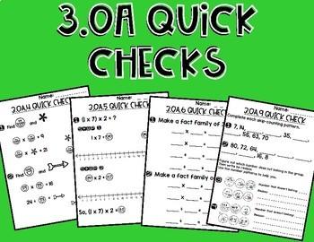3.OA Quick Checks