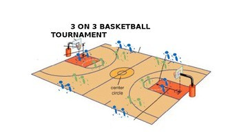 3 ON 3 BASKETBALL FOR 54 or 39 students