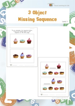 3 Object Missing Sequence