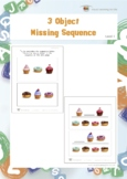 3 Object Missing Sequence (Visual Sequential Memory Worksheets)