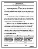 3 Oral Reading Fluency Passage - 3rd Grade