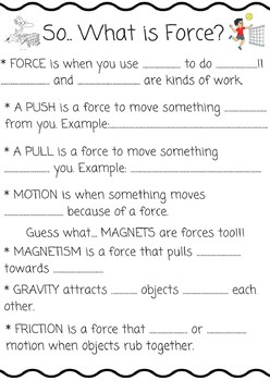 3.PS.1 What is Force