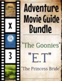 3 Pack Bundle - Adventure Movie Guide Questions + Activities