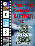 3 Pack Bundle - Christmas Movie Guide Questions + Extra Activities - Part 1