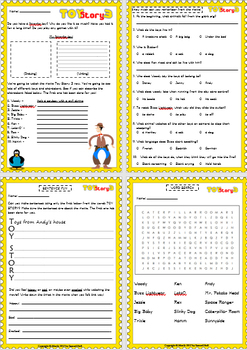 3 Pack Bundle - Young Kids Movie Guide Questions + Extras