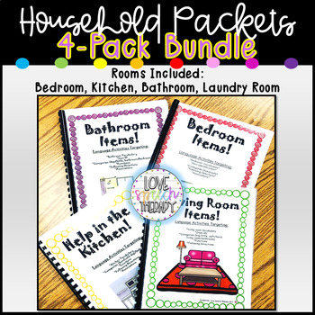3-Pack Household Kitchen, Bathroom, Bedroom Bundle