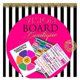 3 Page Set Vision Board DESTINY Board printable quotes