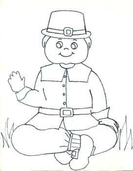3 Page Thanksgiving Coloring Sheets