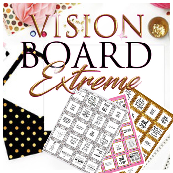60 Pages Vision Board Quotes Positive Affirmation Boutique Style Enchanting Positive Affirmation Quotes
