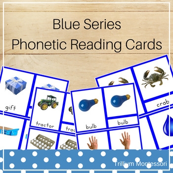 3-Part Phonetic Reading Cards with 4+ Letters
