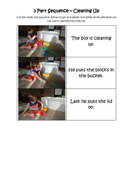 3 Part Sequence - Cleaning Up