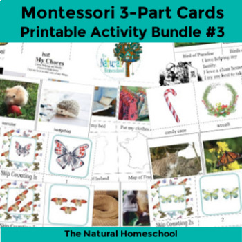 3-Part cards Bundle 3