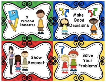 3 Personal Standards - Class Rules - Glad Training